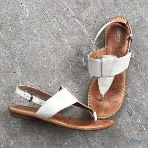 🆕 Listing!  Born   T-strap Slingback Sandals